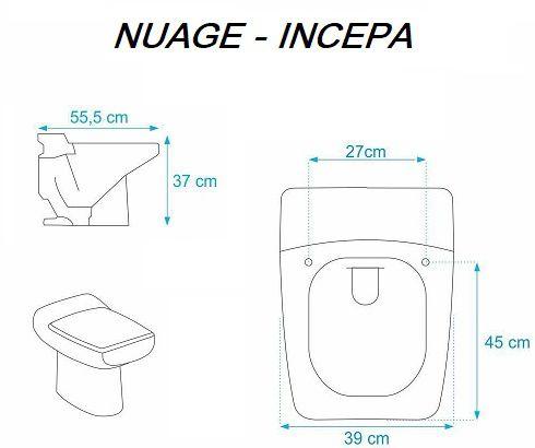 Assento Nuage Laqueado Luxo para Incepa.