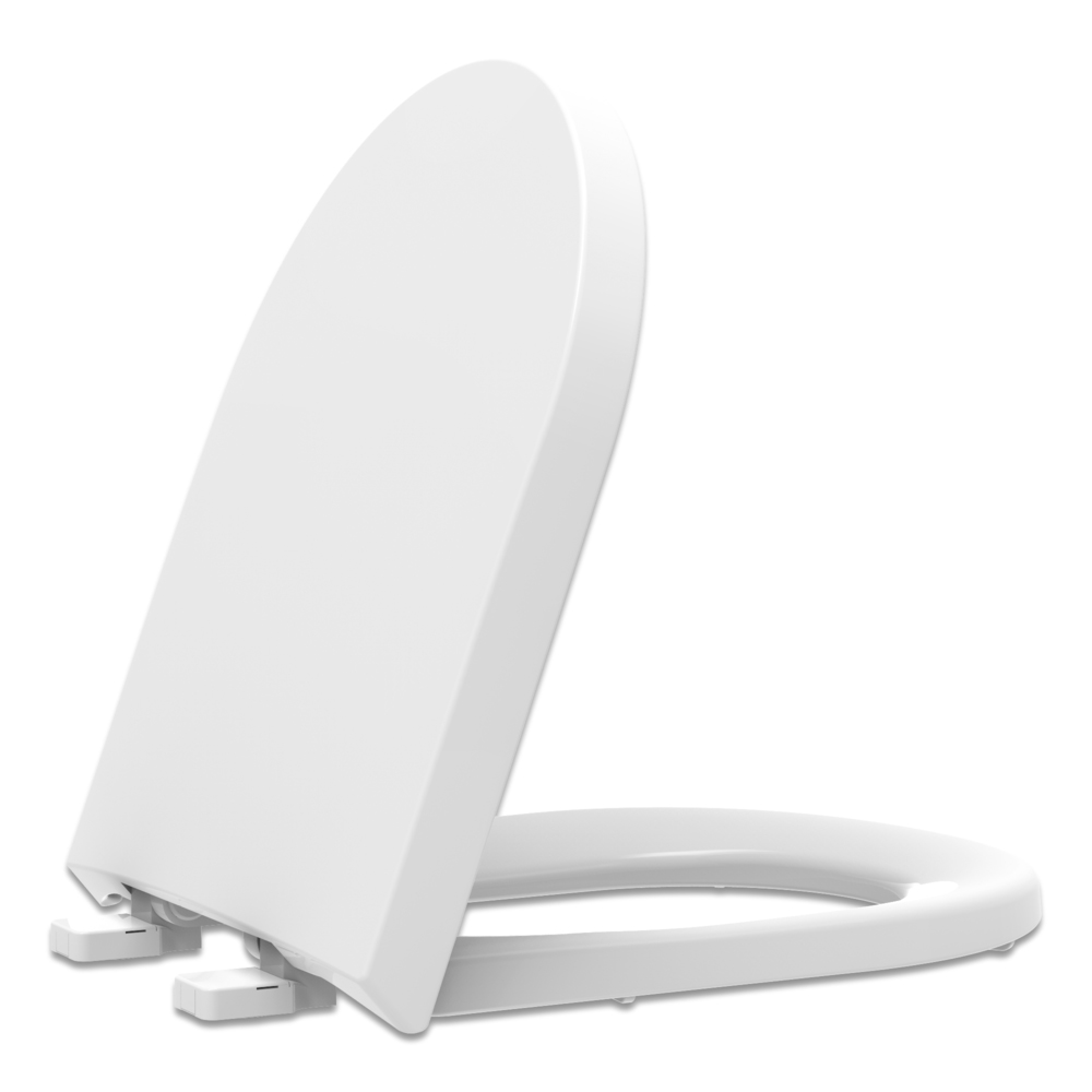 Assento Polipropileno com Fechamento Suave  Level Tupan para Louça Deca.