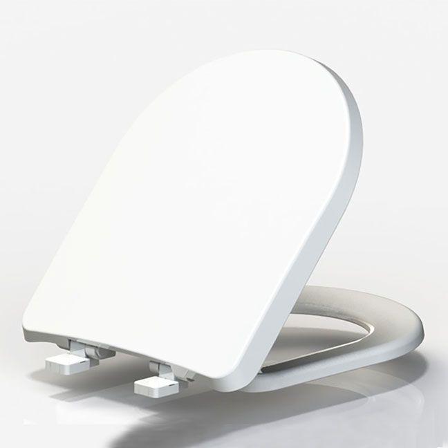 Assento Soft-Close LUNA/LUNA SPECIALE Tupan PP Branco para Louça Celite com Fechamento Suave