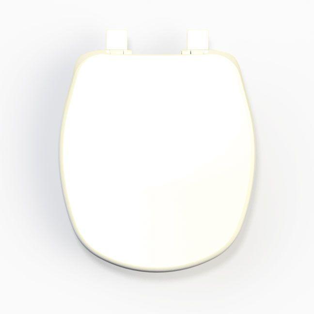 Assento Aspen Soft-Close  PP para Louça Deca com Fechamento Suave