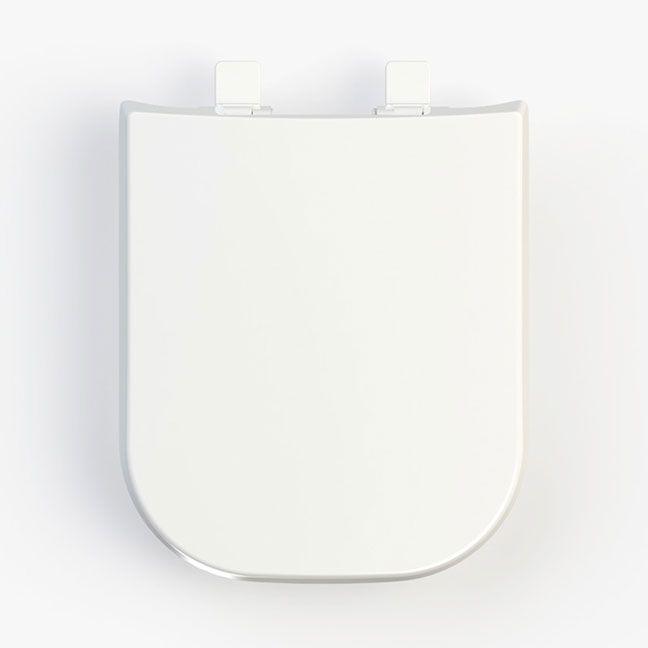 Assento DEBBA SOFT-CLOSE Tupan PP Branco para Roca com Fechamento Suave
