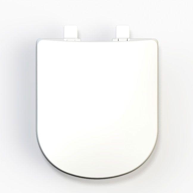 Assento Flox Soft-Close Tupan PP para Louça Fiori com Fechamento Suave