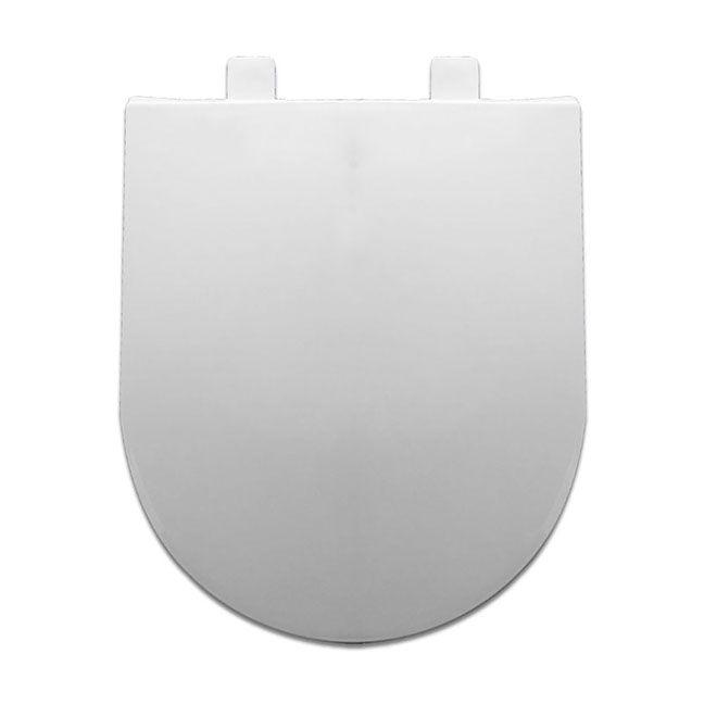 Assento MERIDIAN SOFT-CLOSE Tupan PP Branco  para Roca com Fechamento Suave