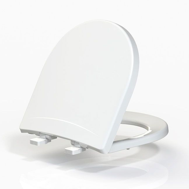 Assento NEXO Soft-Close Tupan PP Branco para Roca com Fechamento Suave
