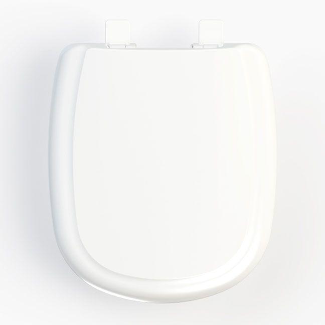 Assento Paris / Ezedra Soft-Close Tupan PP para Louça Ideal Standard com Fechamento Suave; Garantimos o MENOR PREÇO!