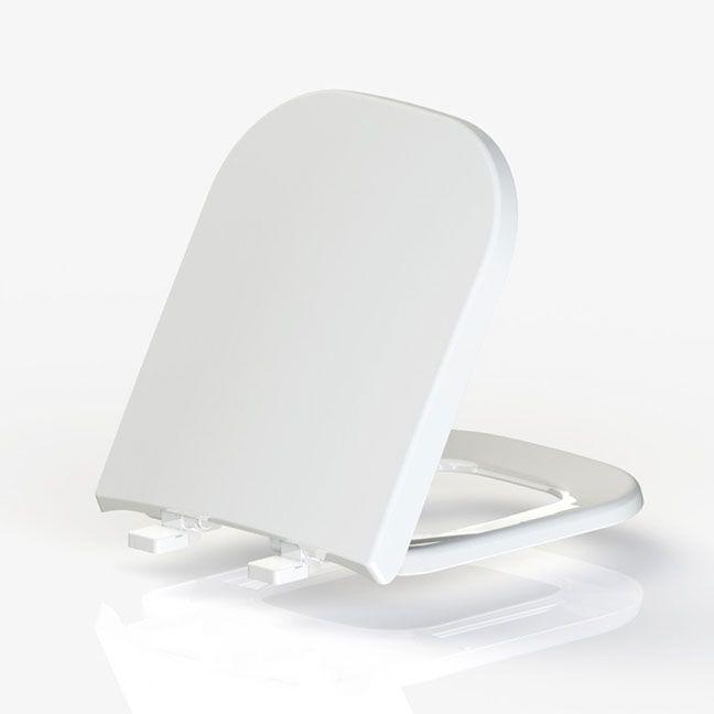 Assento DEBBA Branco Tupan  PP para Louça Roca