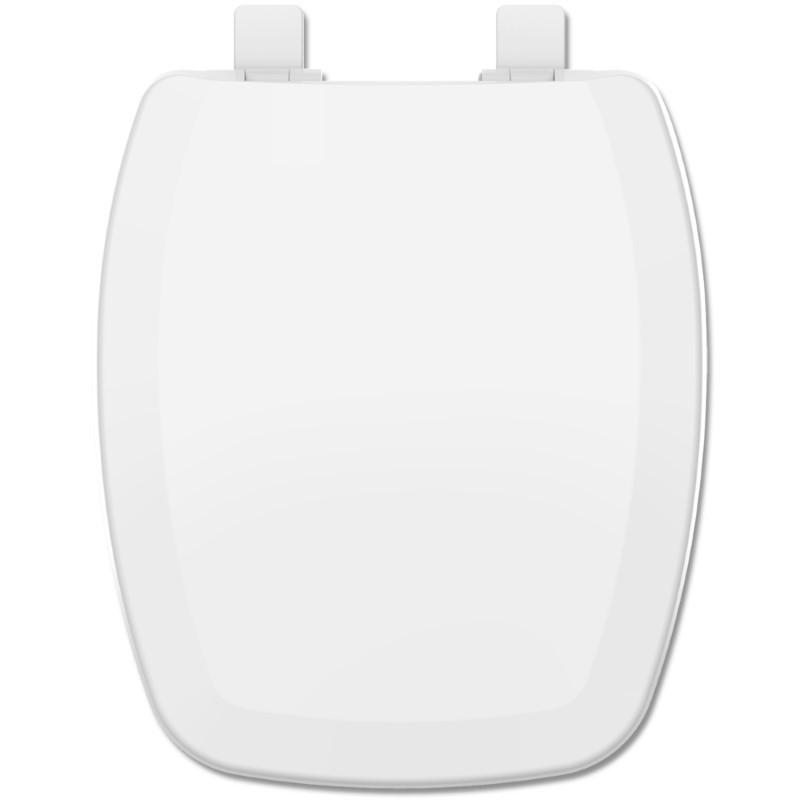 Assento Prímula / Prímula Plus Branco Tupan PP Com Fechamento Suave para Louça Fiori