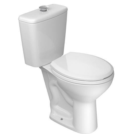Assento Izy Branco em Polipropileno Com fechamento Suave - AP165 Para Bacia Izy Conforto - P115