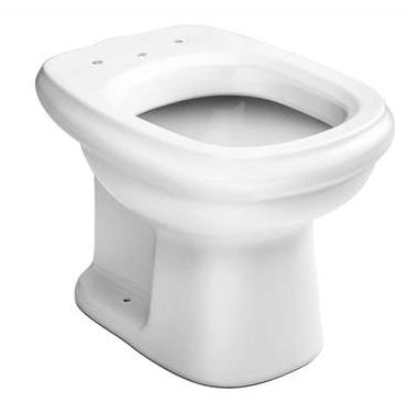 Assento Sabatini com  Altura 7 Cm Almofadado Super luxo Branco