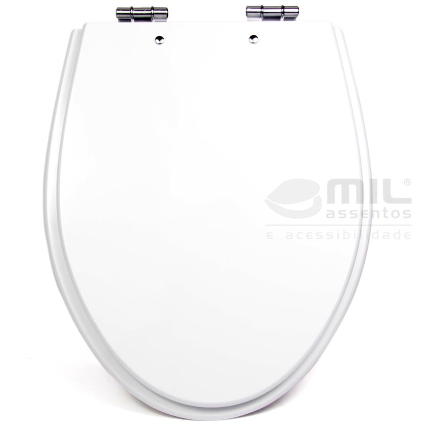 Assento Sanitário Absolute para Louça Ideal Standard em Madeira Laqueada (MDF)