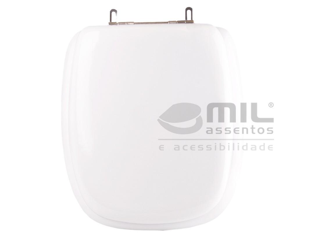 Assento Sanitário Angra para  louça Logasa - Almofadado LUXO ou SUPER LUXO