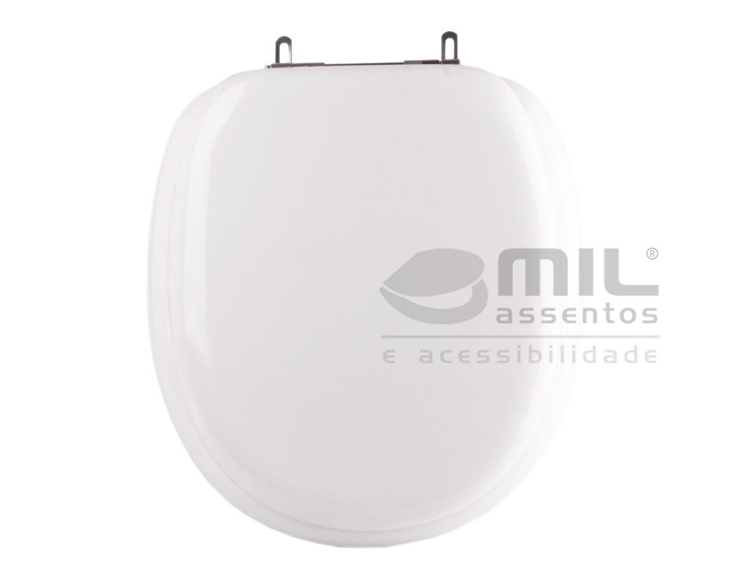 Assento Sanitário Ascot para  louça Ideal Standard - Almofadado LUXO ou SUPER LUXO