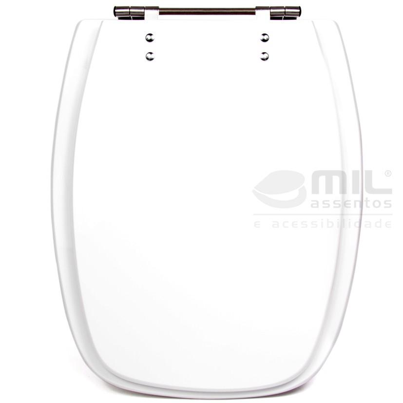 Assento Sanitário Avant Plus para Louça Incepa / Roca em Poliéster