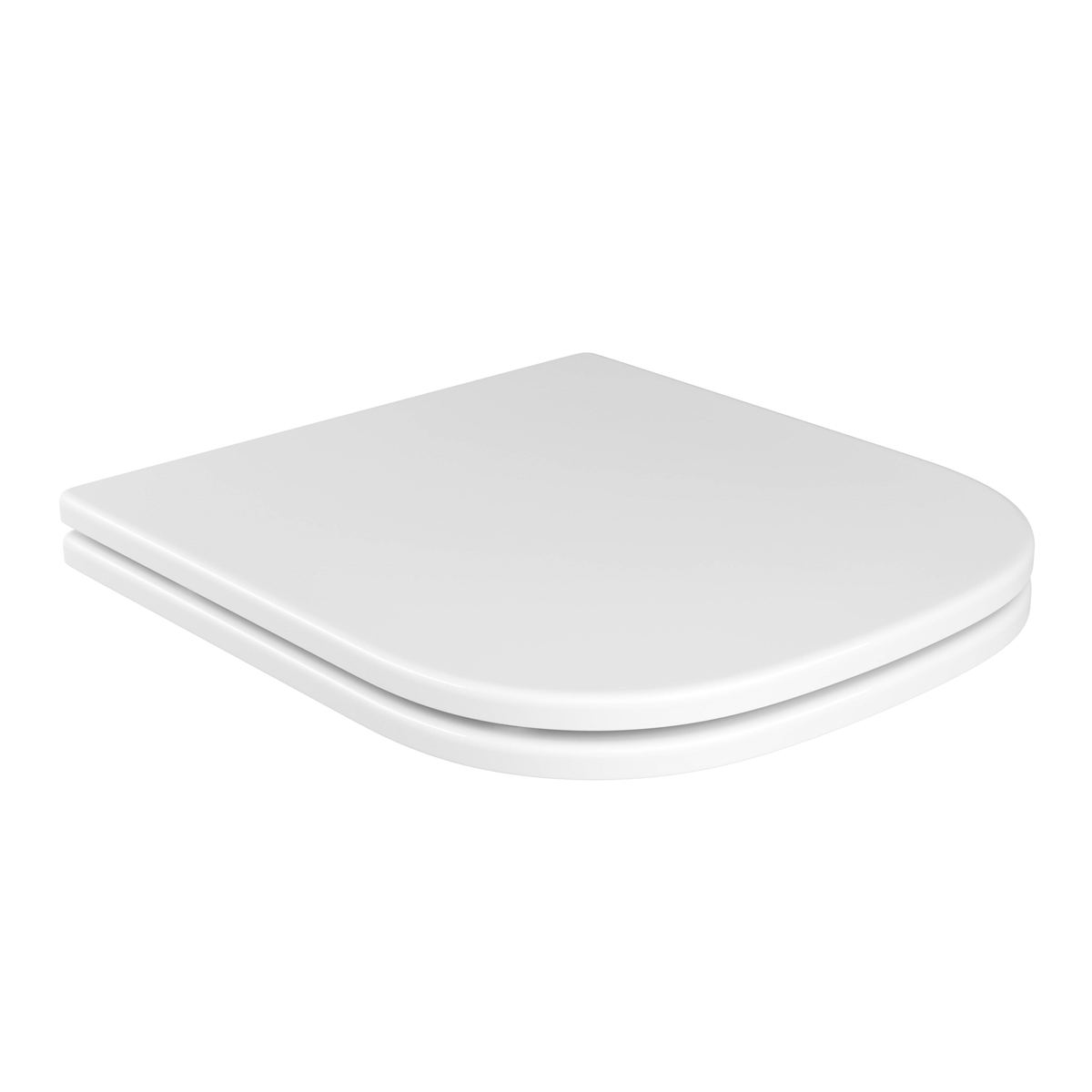 Assento BOUTIQUE Soft-Close AXIS Poliéster/Acrílico para Louça Deca