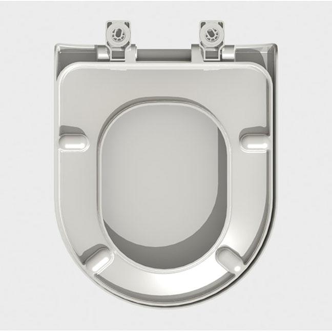 Assento Carrara Soft-Close Termofixo Tupan com Fechamento Suave; SERVE para as Louças Carrara, Duna, Nuova, Link, LK, Level e PRO da Deca.