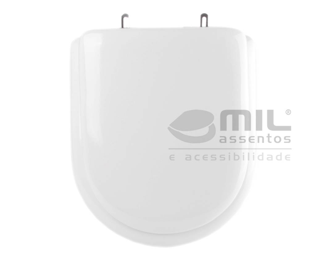 Assento Sanitário Carrara para louça Deca - Almofadado LUXO ou SUPER LUXO