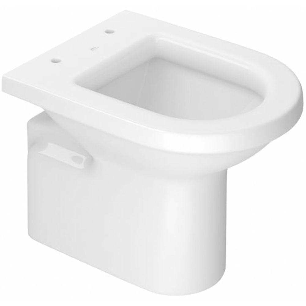 Assento Sanitário Duna  MARROM FOSCO Termofixo Tupan para Louça Deca com Fechamento Suave