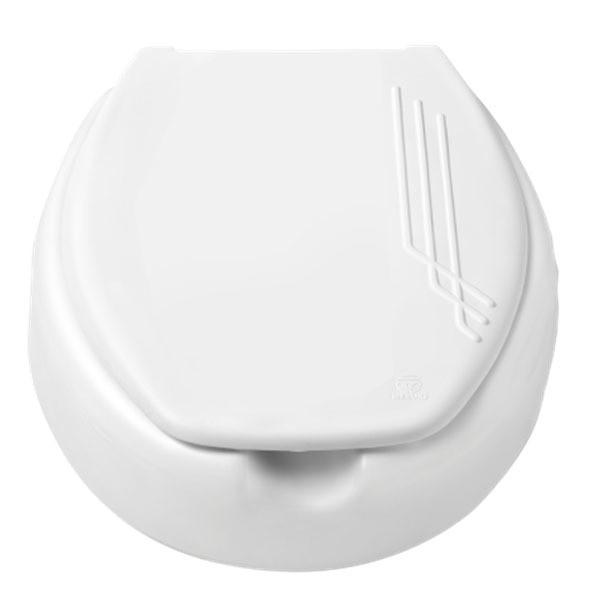 Assento Elevado Mebuki 7,5 cm  para Idosos, Desabilitados e Mobilidade Reduzida