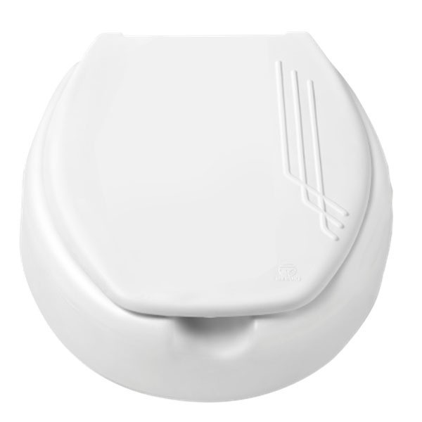 Assento Elevado Mebuki 7,5 cm  para Desabilitado, Deficiente, Cadeirante ou Idoso.