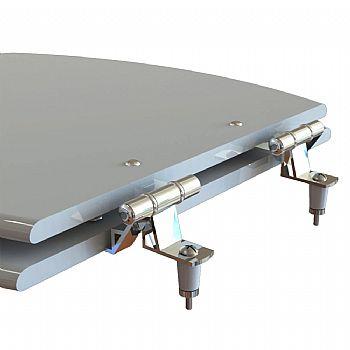 Assento Laqueado Flamingo / Fiori / Zip / Oval Convencional MDF para Incepa.