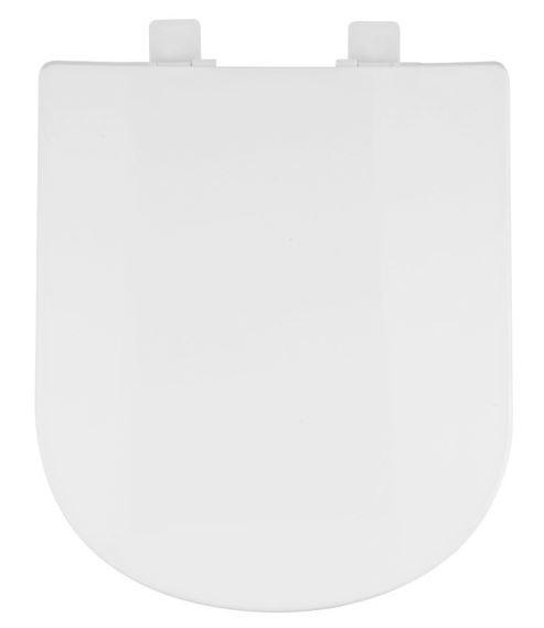 Assento Sanitário Flox com Fechamento  Suave SOFT CLOSE ou SLOW CLOSE em Resina Termofixa.