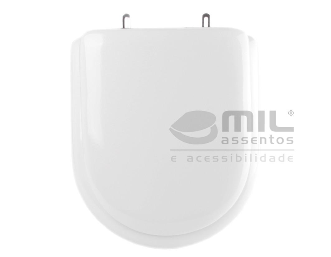 Assento Sanitário Flox para louça Fiori - Almofadado LUXO ou SUPER LUXO