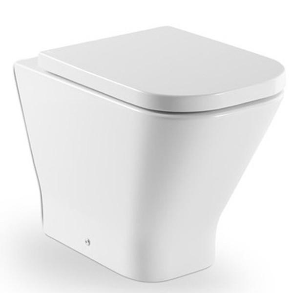 Assento GAP SOFT-CLOSE Branco Roca Tupan PP com Fechamento Suave.