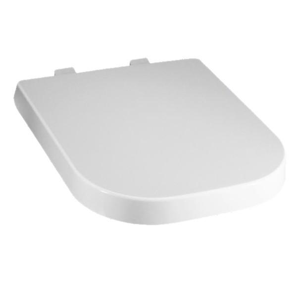 Assento GAP Soft-Close Termofixo Branco Tupan para Roca com Fechamento Suave.