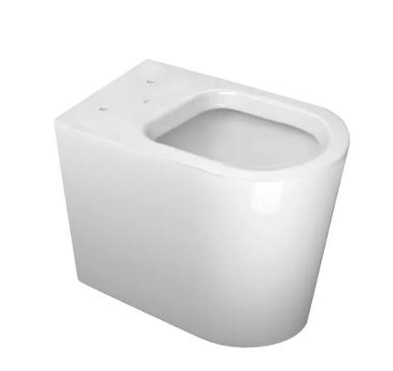 Assento Sanitário Link  MARROM FOSCO Termofixo Tupan para Louça Deca com Fechamento Suave