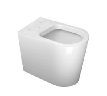 Assento Sanitário LK MARROM FOSCO Termofixo Tupan para Louça Deca com Fechamento Suave