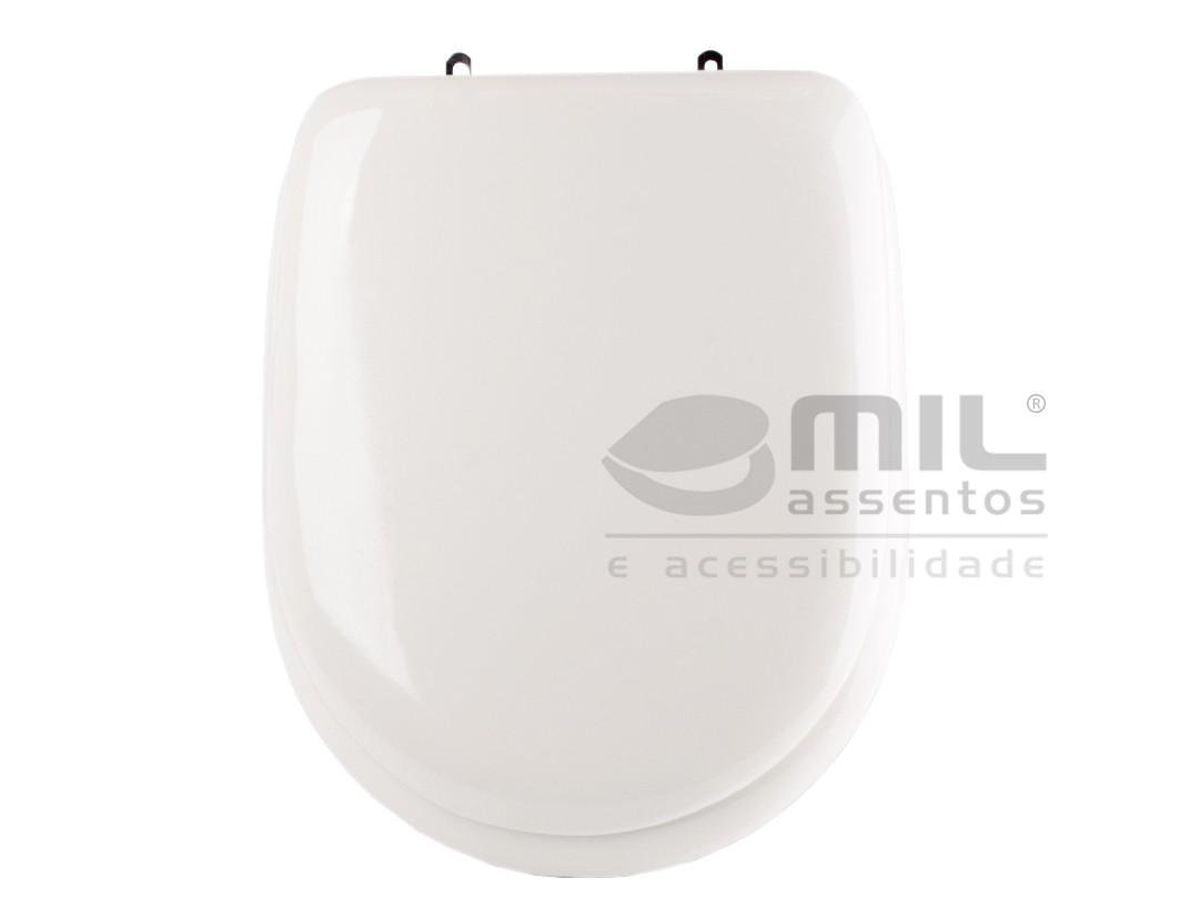 Assento Sanitário Luna para  louça Icasa - Almofadado LUXO ou SUPER LUXO