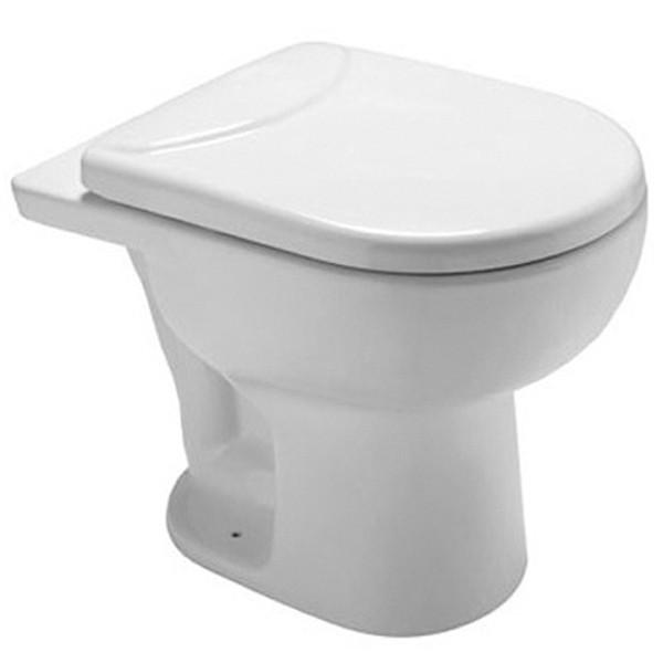 Assento Sanitário LUNA SPECIALE BRANCO com Fechamento Suave SLOW CLOSE para Louça ICASA em POLIPROPILENO (PP)