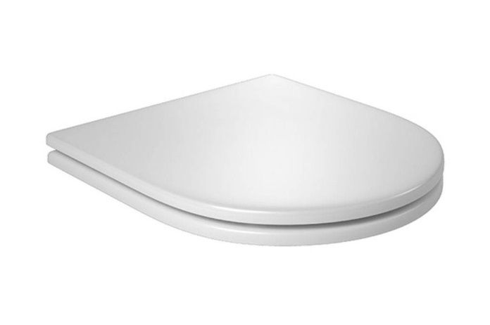 Assento Meridian BOUTIQUE Soft-Close Poliéster/Acrílico para Roca com Fechamento Suave