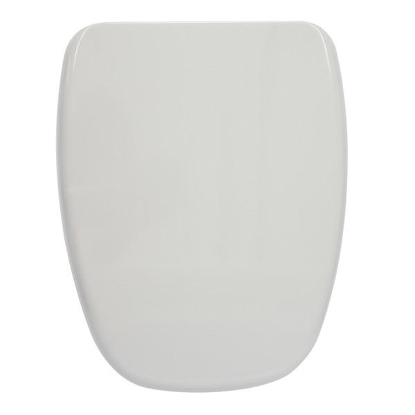 Assento Sanitário Monte Carlo com Fechamento  Suave SOFT CLOSE ou SLOW CLOSE em Resina Termofixa.