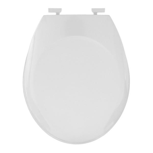Assento Sanitário Parati / Zoom / Oval Convencional com Fechamento Comum em Resina Termofixa.