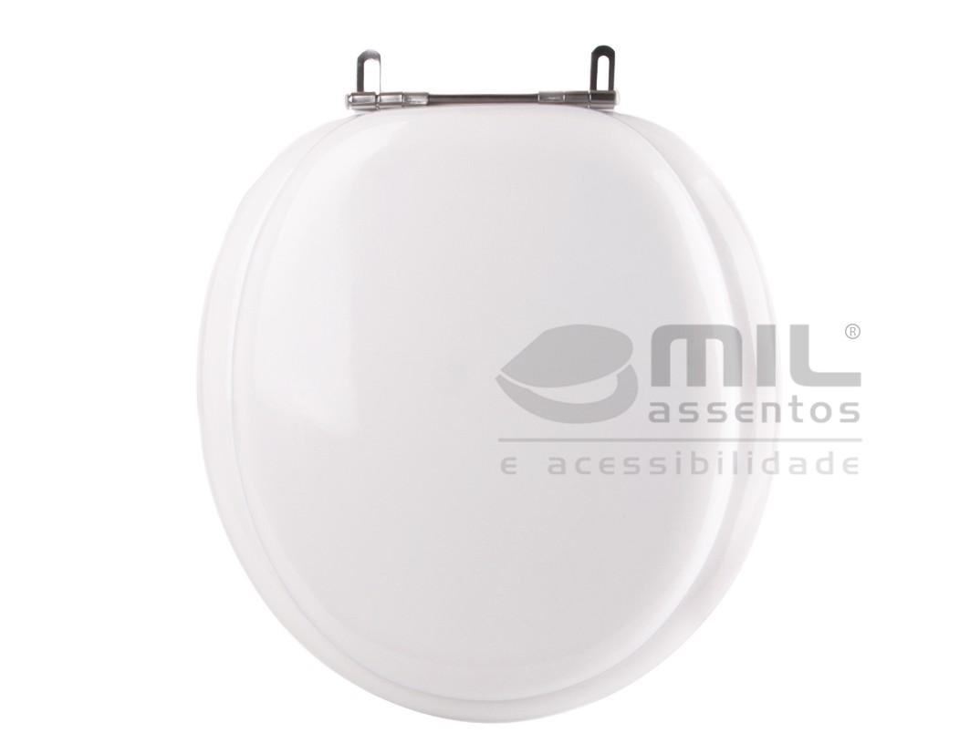 Assento Sanitário Parati / Zoom / Oval Convencional para  louça Logasa - Almofadado LUXO ou SUPER LUXO