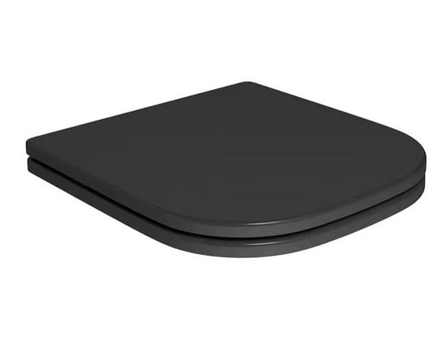 Assento Soft-Close PIANO Poliéster/Acrílico para Deca