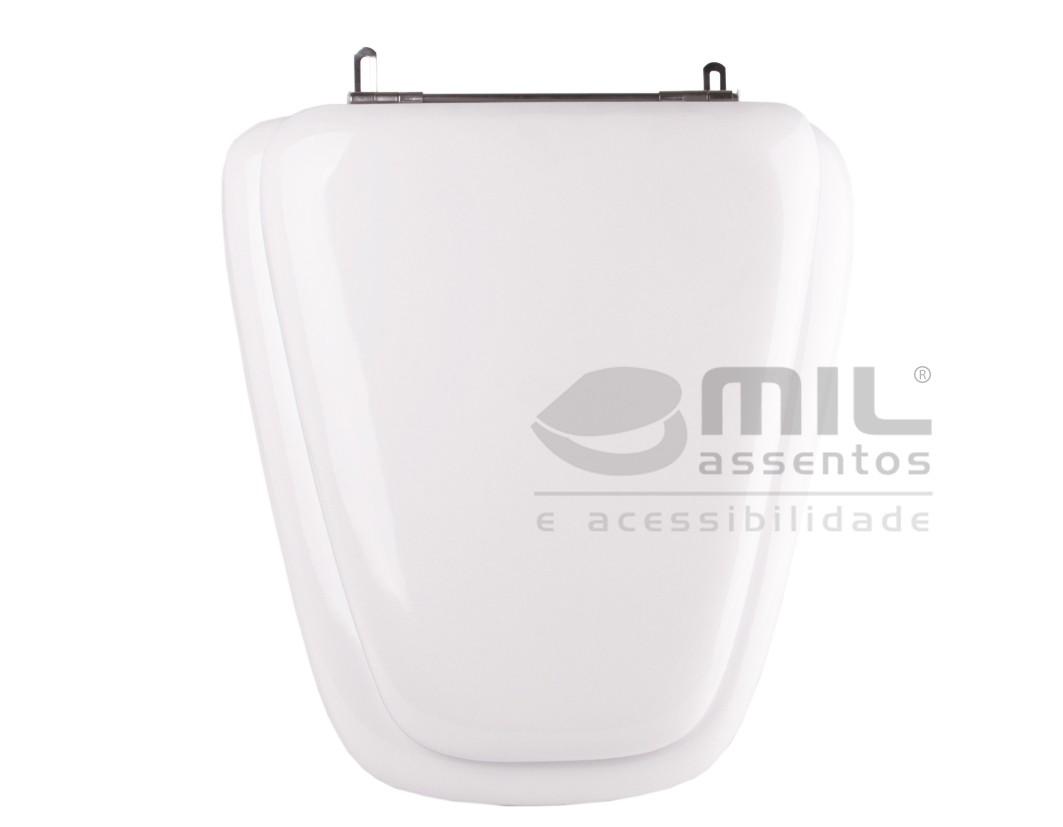 Assento Sanitário Plaza para  louça Ideal Standard - Almofadado LUXO ou SUPER LUXO