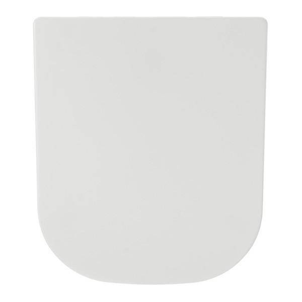 Assento Sanitário Quadra com Fechamento  Suave SOFT CLOSE ou SLOW CLOSE em Resina Termofixa.