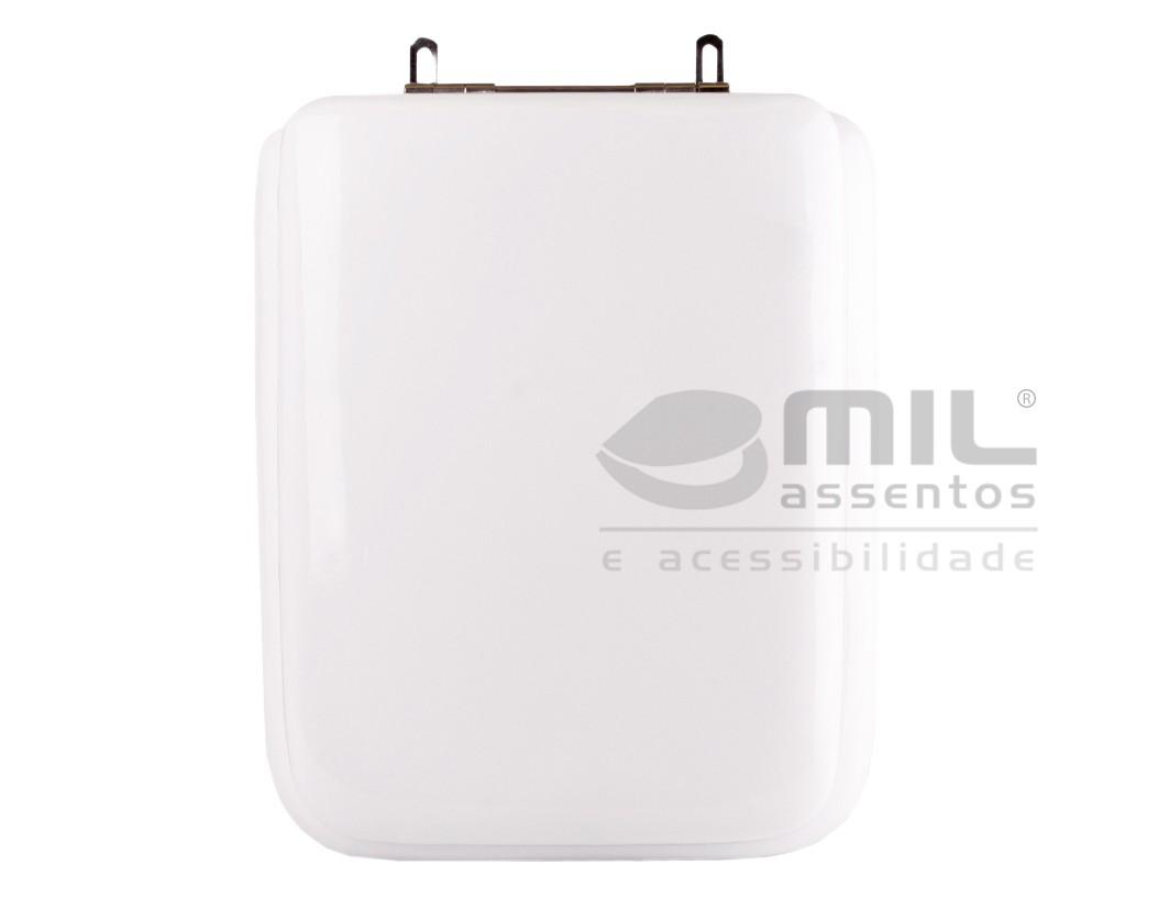 Assento Sanitário Quadra / Polo / Unic para Louça Deca - Almofadado LUXO ou SUPER LUXO