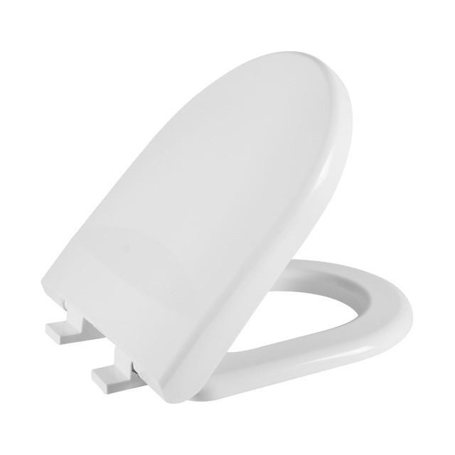 Assento Sanitário Riviera com Fechamento Suave SOFT CLOSE ou SLOW CLOSE Em Polipropileno para Louça Celite