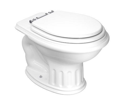 Assento Sanitário Windsor / Ritz para louça Deca - Almofadado LUXO ou SUPER LUXO