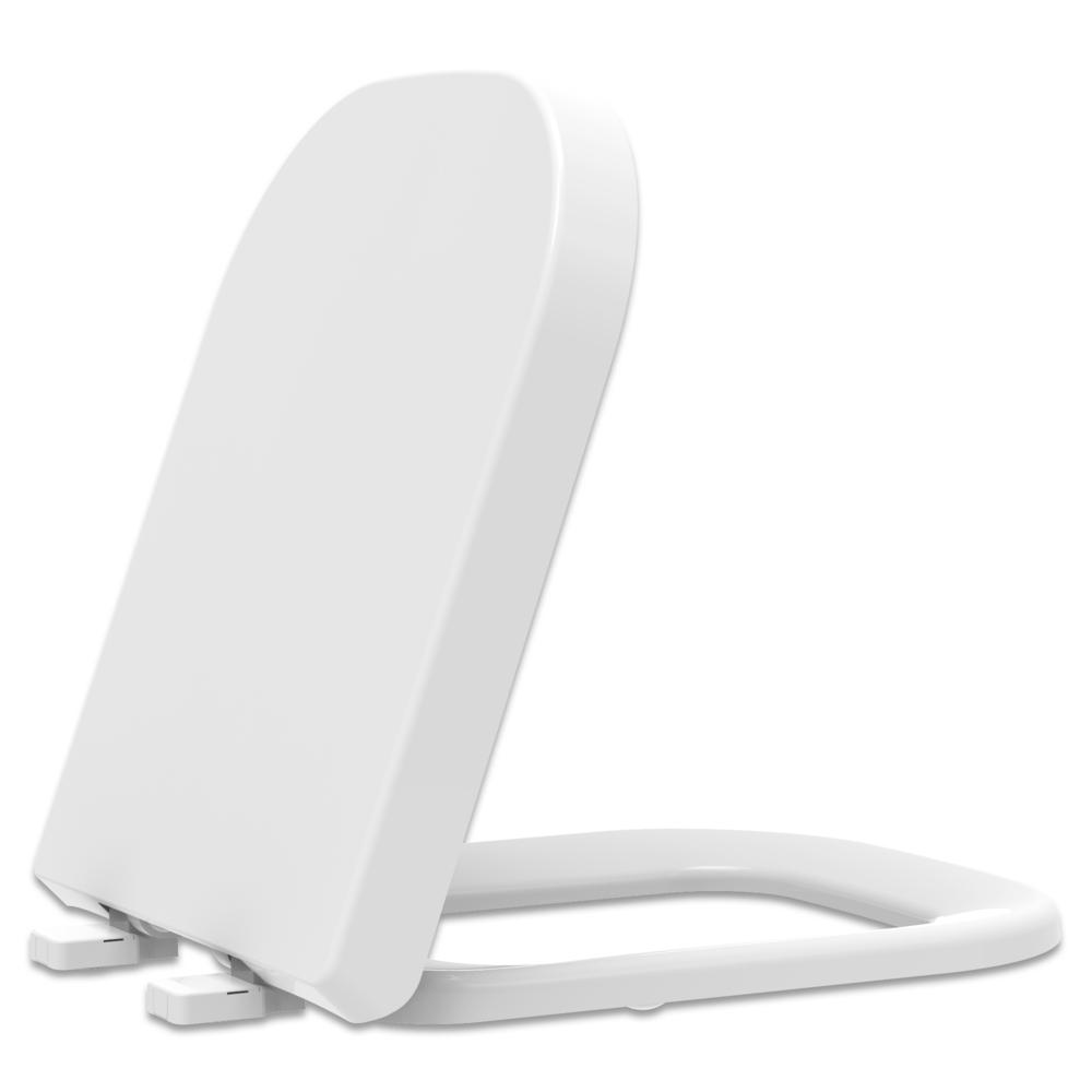 Assento Soft-Close Axis  Termofixo Tupan para Louça Deca com Fechamento Suave