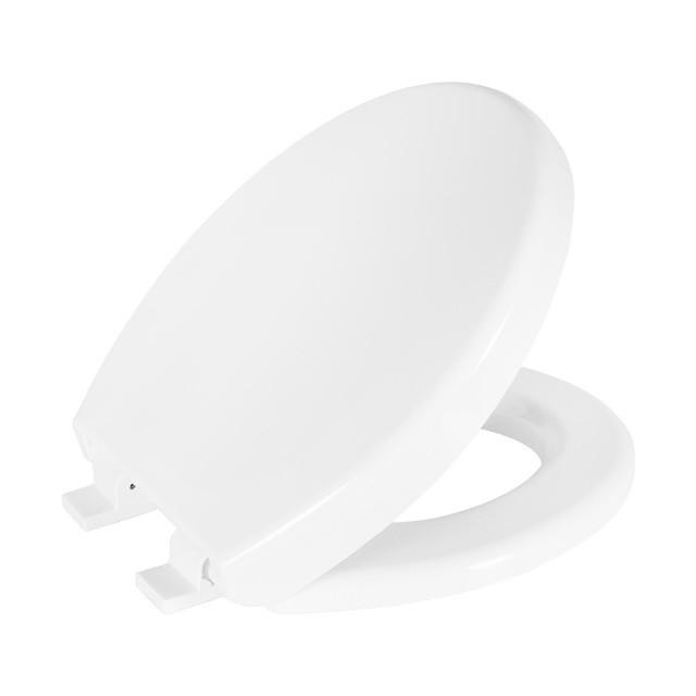 Assento Soft-Close Flamingo / Oval Convencional PP para Incepa com Fechamento Suave.