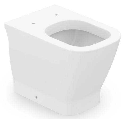 Assento Soft-Close Gap PRETO  MATTE FOSCO Termofixo Tupan para Louça Roca com Fechamento Suave