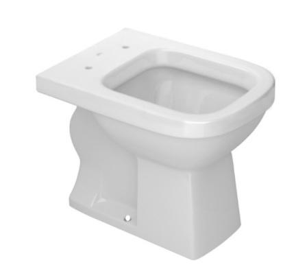 Assento SOFT-CLOSE QUADRA  Tupan PP para Louça Deca com Fechamento Suave