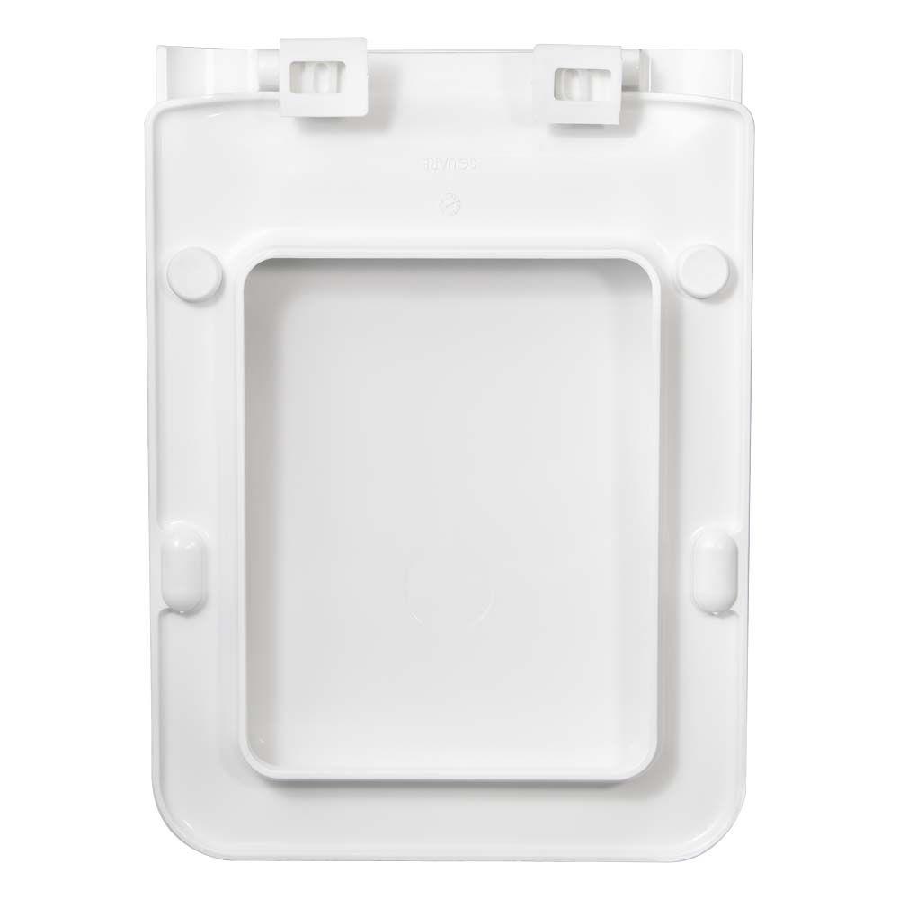 Assento Square Termofixo Branco Tupan para Louça Incepa Garantimos o MENOR PREÇO!