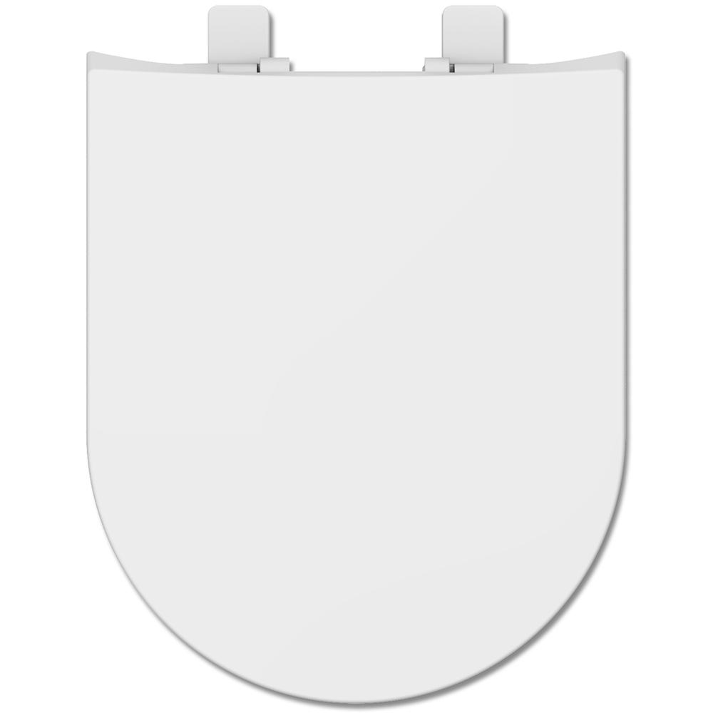 Assento Termofixo com Fechamento Suave Carrara Tupan para Louça Deca.