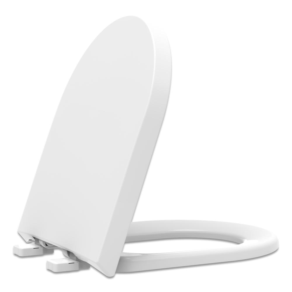Assento Termofixo com Fechamento Suave Level Tupan para Louça Deca.