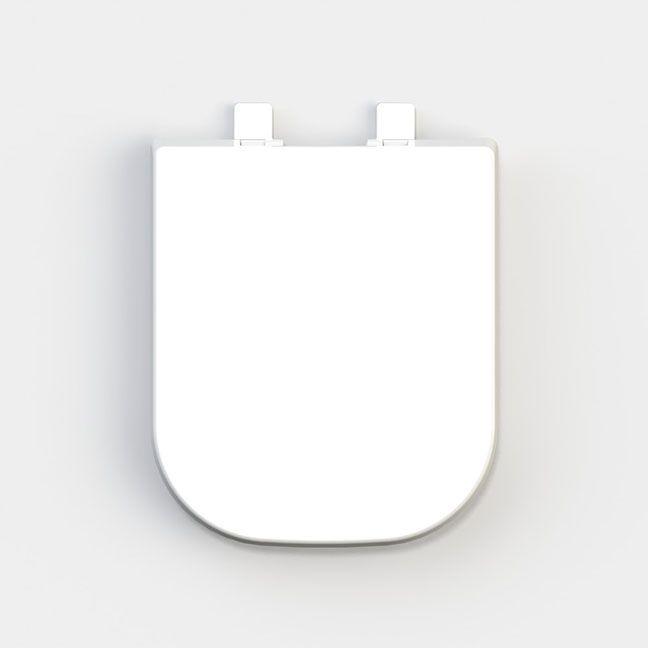Assento Soft-Close Quadra / Axis / Piano / Polo / Unic Termofixo Tupan para Louça Deca com Fechamento Suave